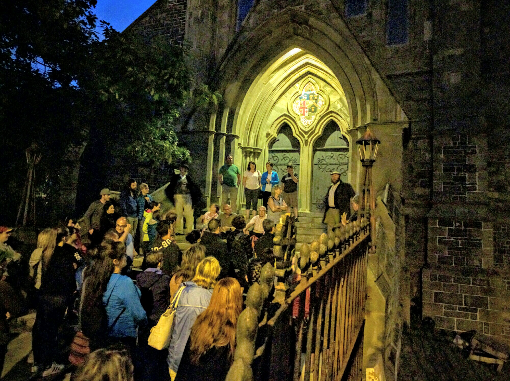Sinners and Spirits ghost tour in St. John's, Newfoundland