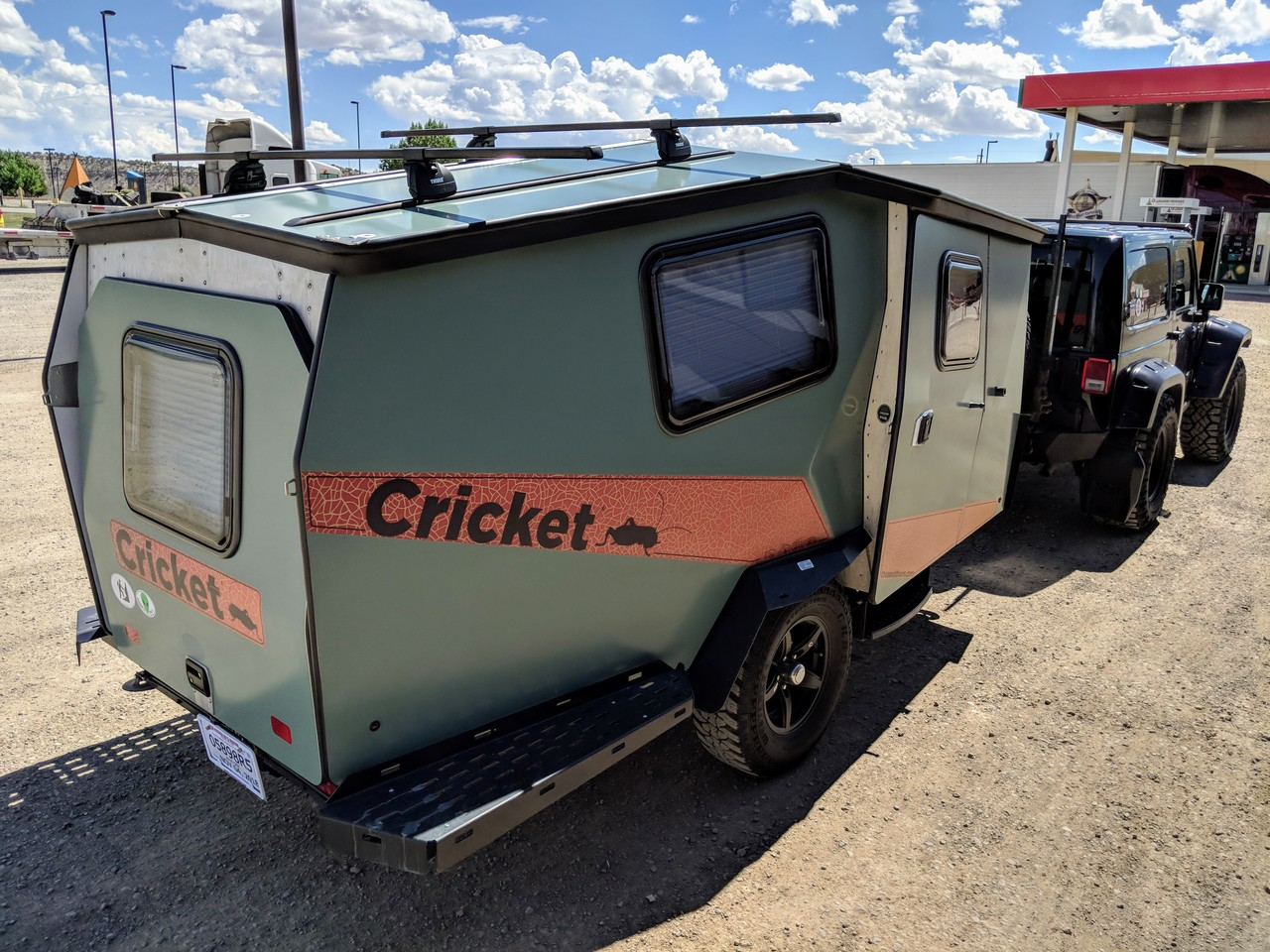Cricket on the road
