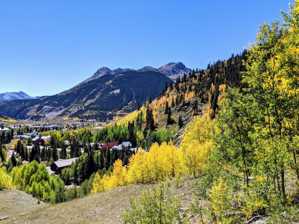 Fall color comes to Silverton CO