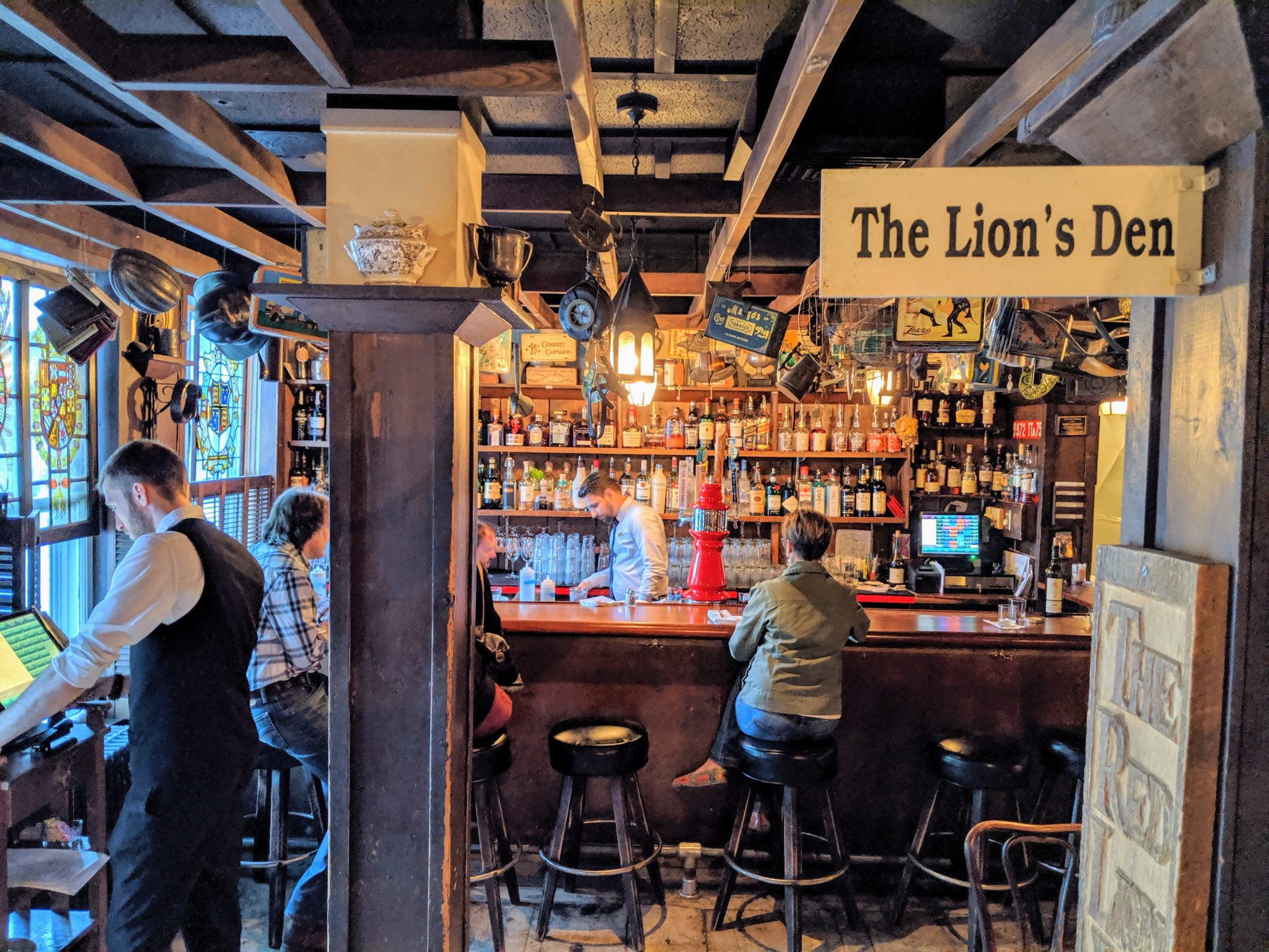 The Lion's Den